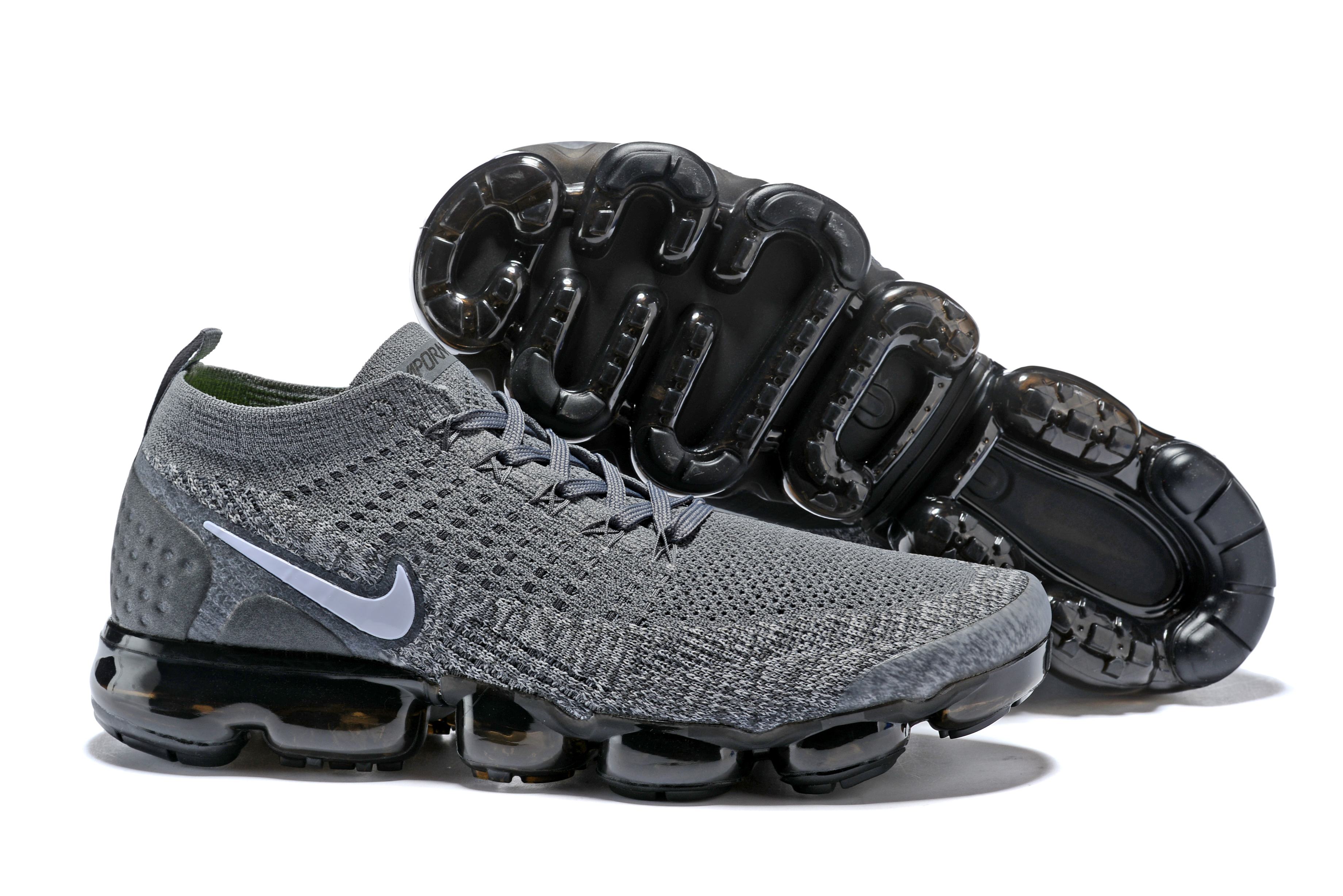 2018 Nike Air VaporMax II Grey Black Shoes