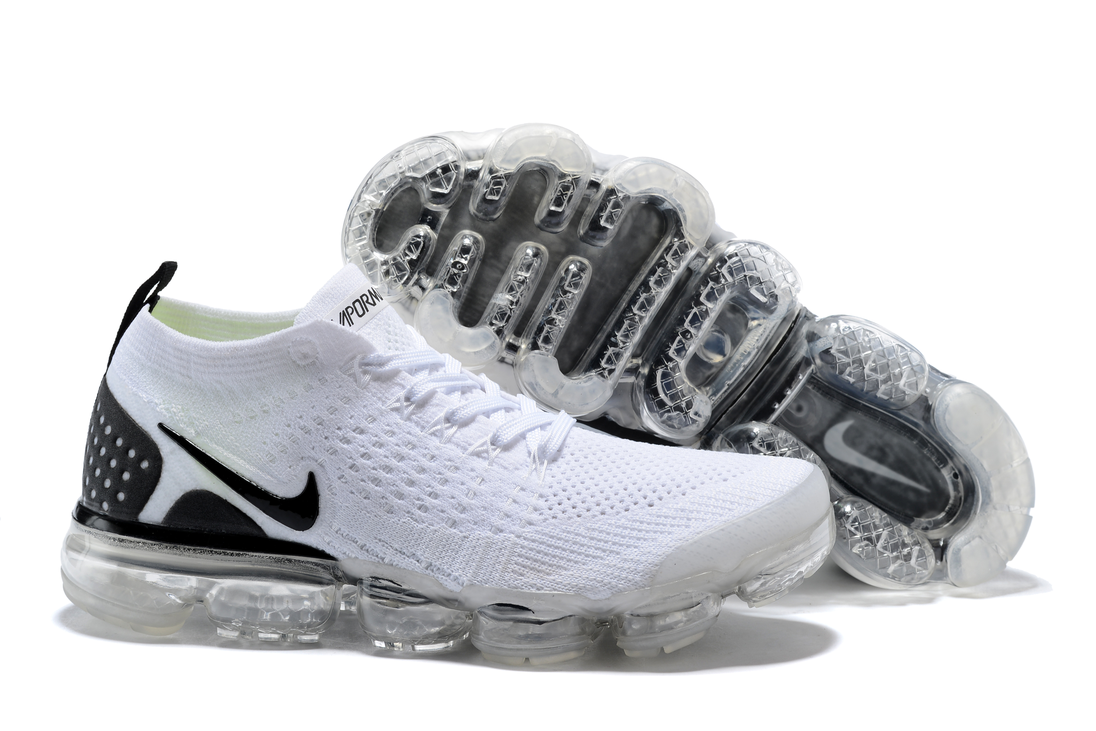 2018 Nike Air VaporMax II White Black Shoes