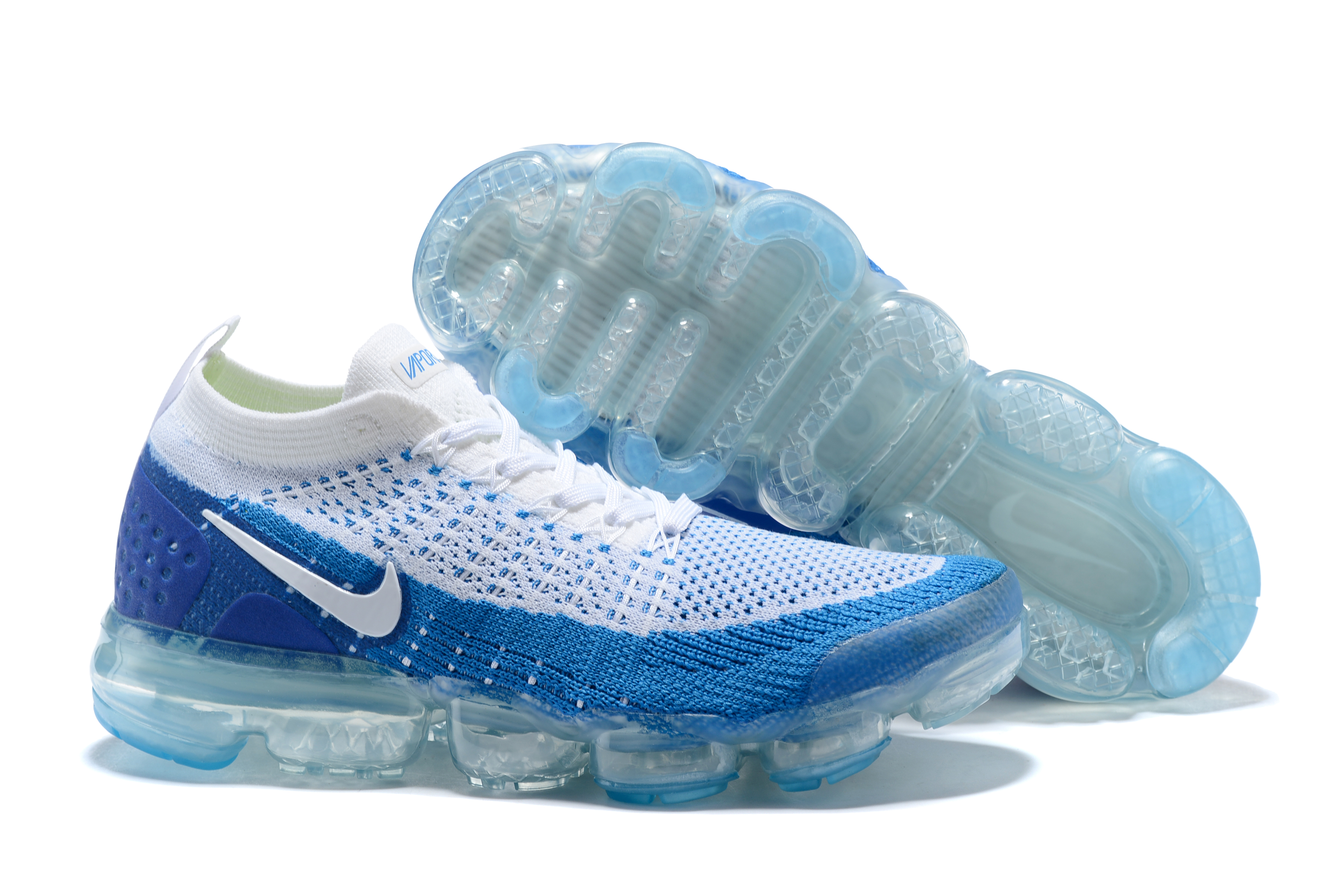 2018 Nike Air VaporMax II White Blue Shoes