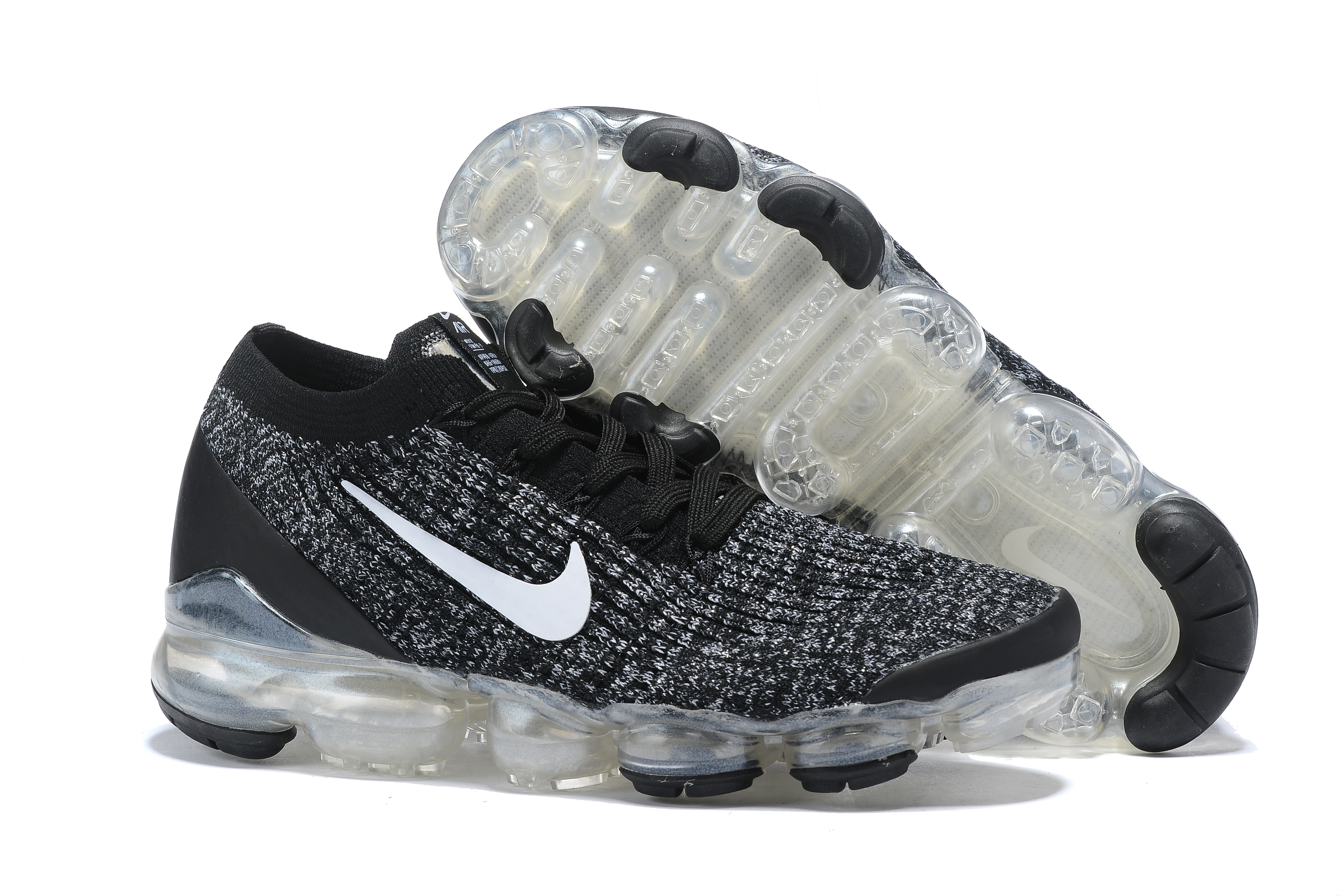 2019 Nike Air VaporMax Flyknit 3.0 Black Grey Lover Shoes