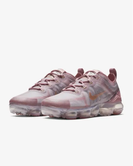 2019 Nike Air VaporMax Women Pink Grey Shoes