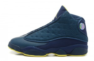 Air Jordan 13 Retro Squadron Blue Electric Yellow Black