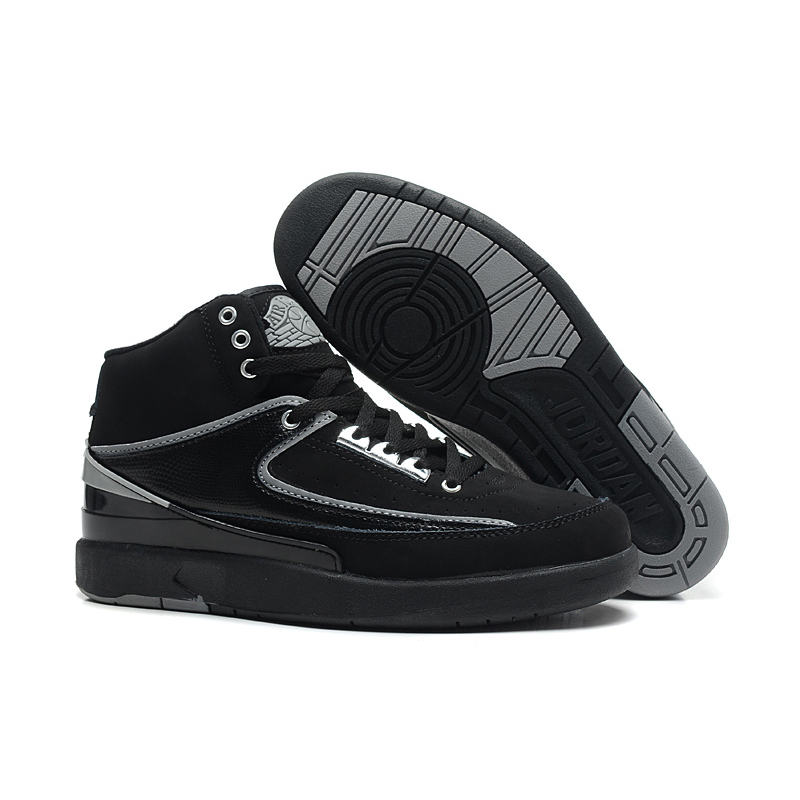 Air Jordan 2 Breathable High Black