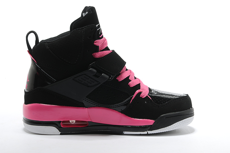best service 7c90c 3a1ff Air Jordan Flight 45 Womens High Black Vivid Pink White