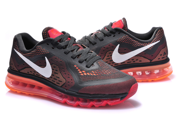Nike Air Max 2014 Black Red Shoes