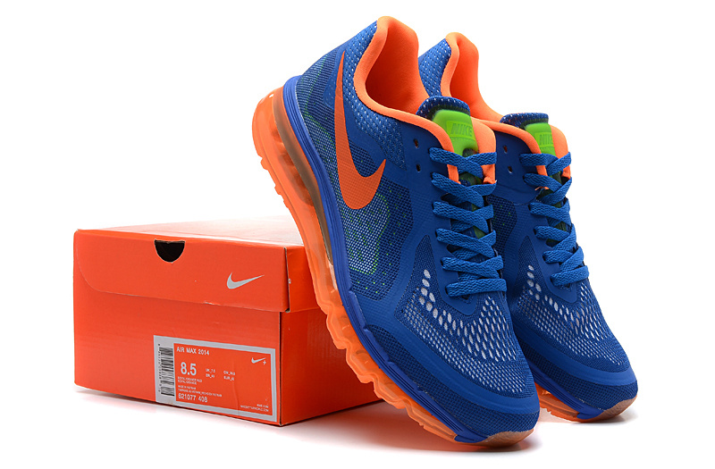 Nike Air Max 2014 Blue Orange Shoes