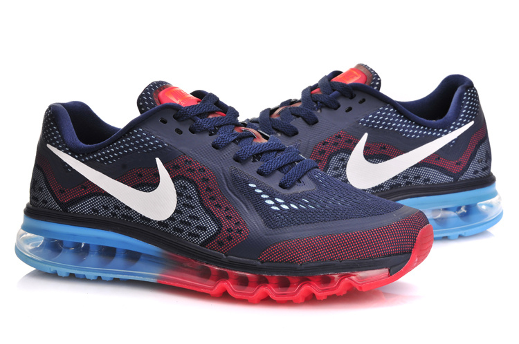 Nike Air Max 2014 Blue Red Blue Shoes