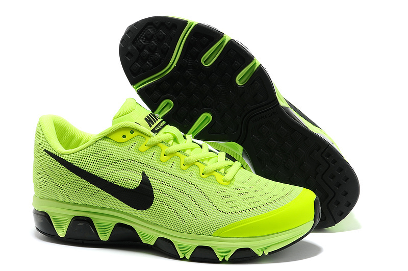 Nike Air Max 2015 Fluorescent Green Black Shoes