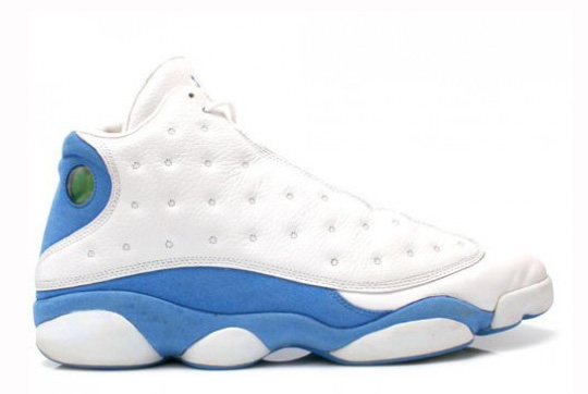 GS Air Jordan 13 White University Blue