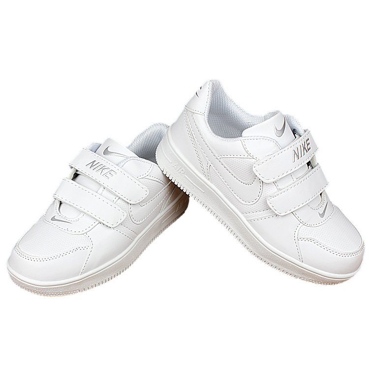 Nike Air Force All White Shoes For Kid  Nike3212  -  55.00   Real ... 2f0c8a509
