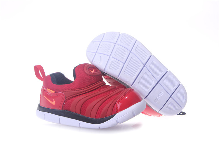 Kids Nike Dynamo Free Red White Shoes