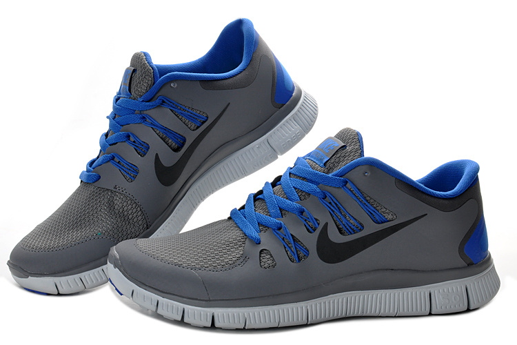 New Nike Free 50 Grey Blue Running Shoes