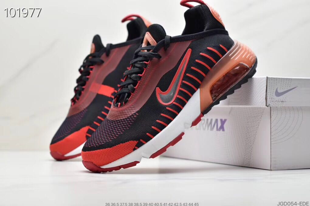 Nike Air Max Vapormax 2090 Flyknit Black Red White Shoes