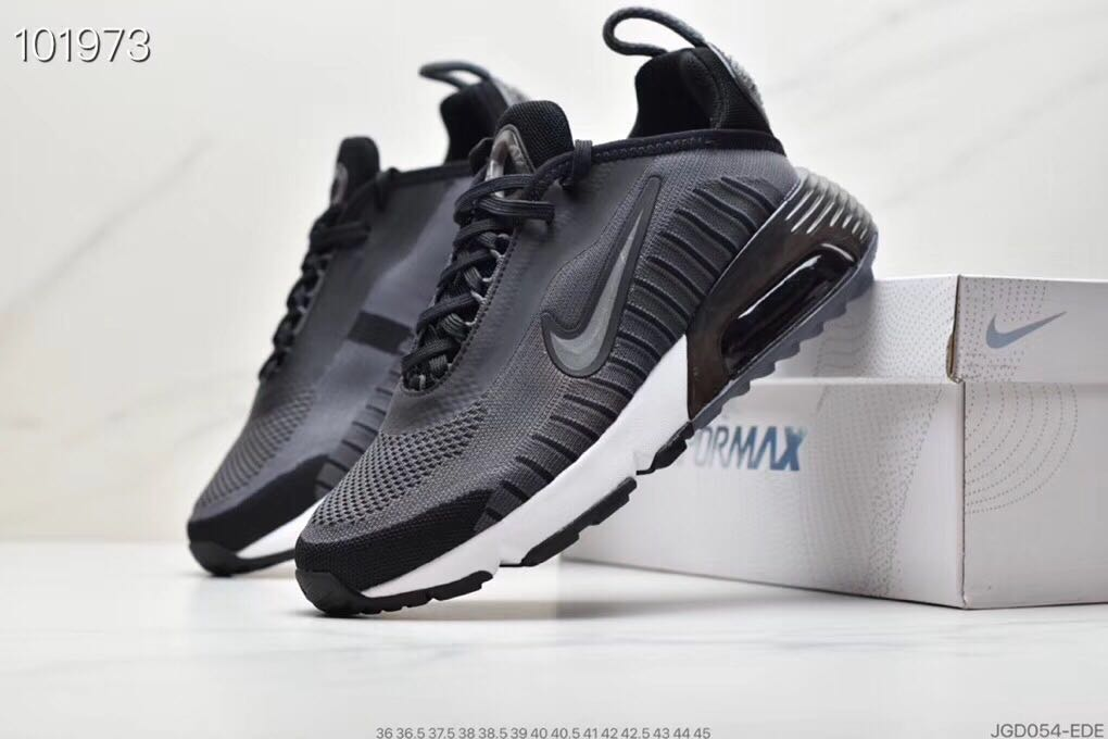 Nike Air Max Vapormax 2090 Flyknit Grey Black White Shoes