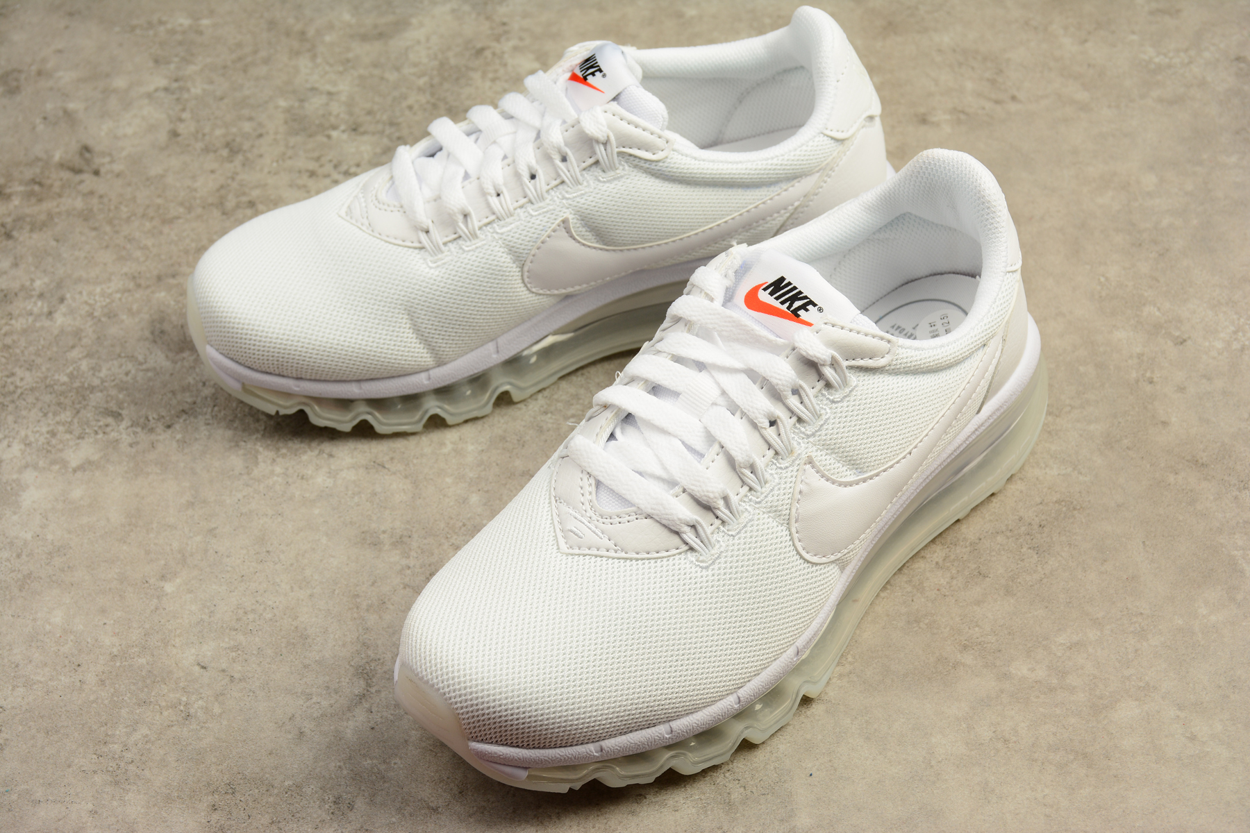 Women Nike Air Max LD Zero All White Shoes
