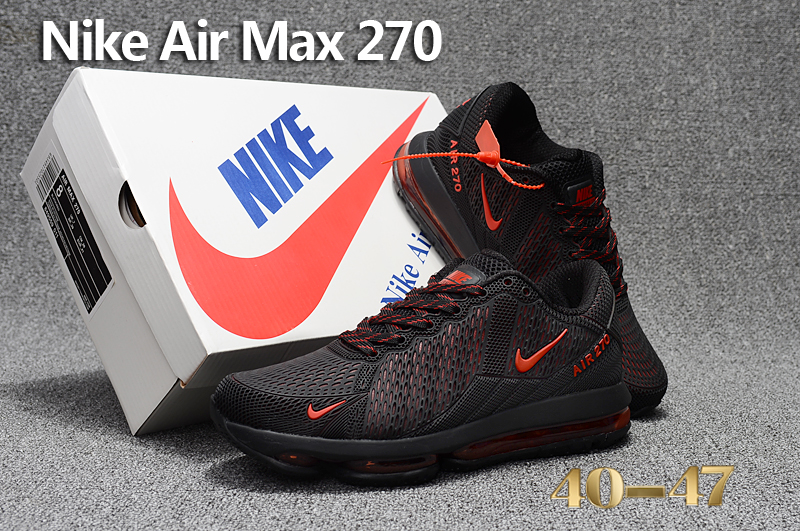 Men 2017 Nike Air Max Flair Black Red Shoes