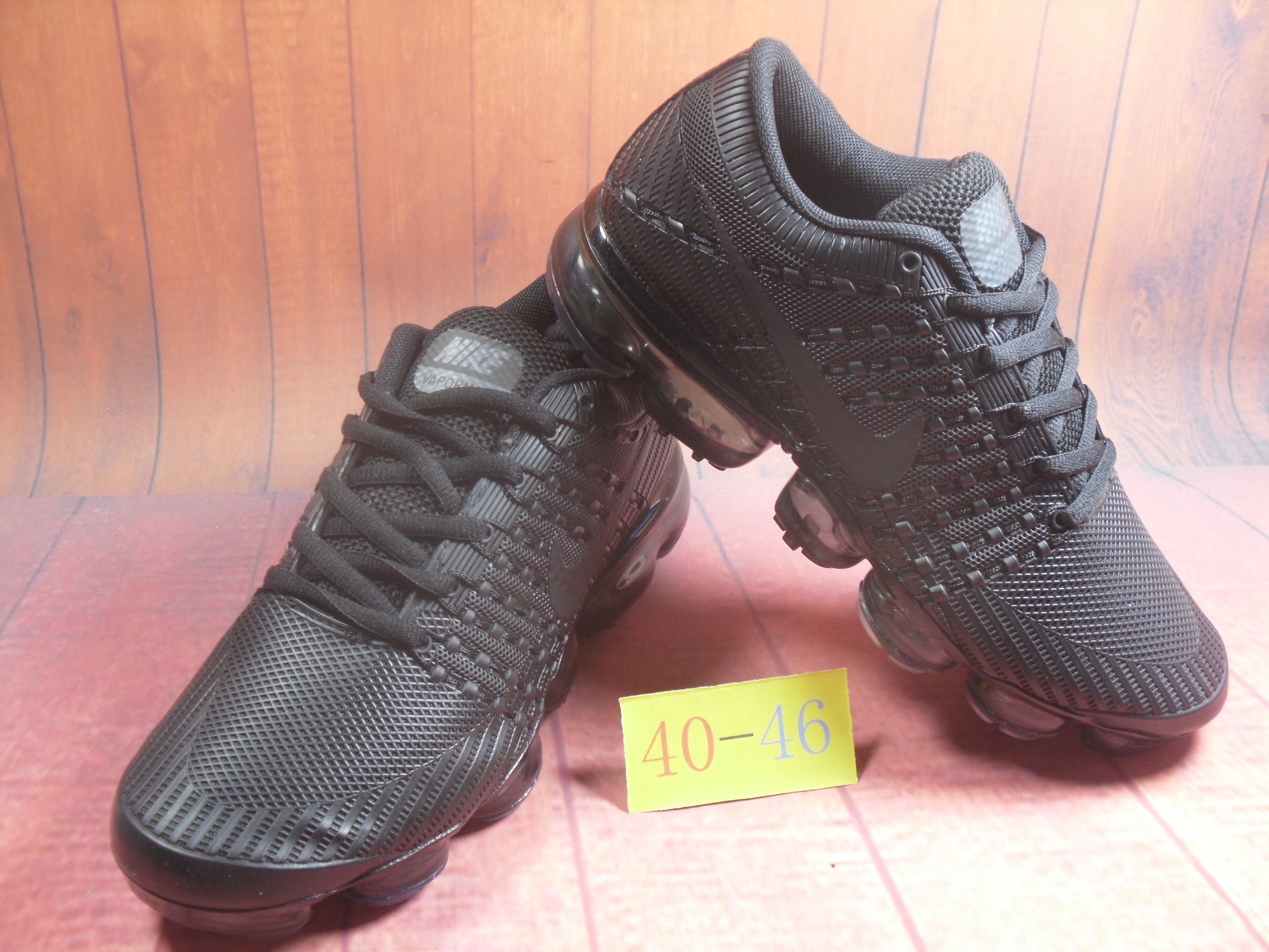 Men 2018 Nike Air VaporMax Flyknit KPU All Black