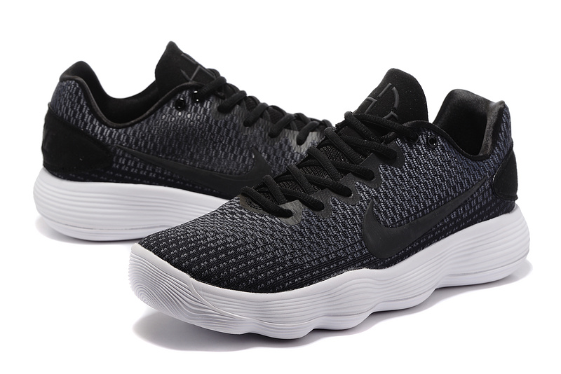d40bb502a02f Men Nike Hyperdunk 2017 EP Low Black White Basketball Shoes ...