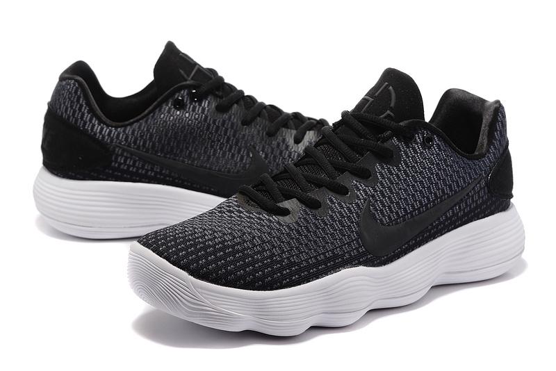 finest selection 4cb86 392fe Men Nike Hyperdunk 2017 EP Low Black White Basketball Shoes