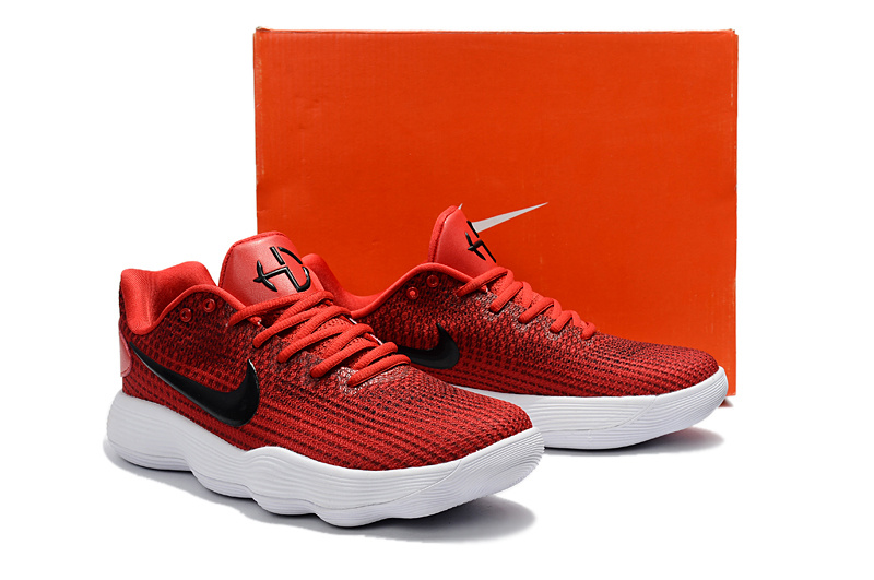 Men Nike Hyperdunk 2017 Low Red Black Basketball Shoes