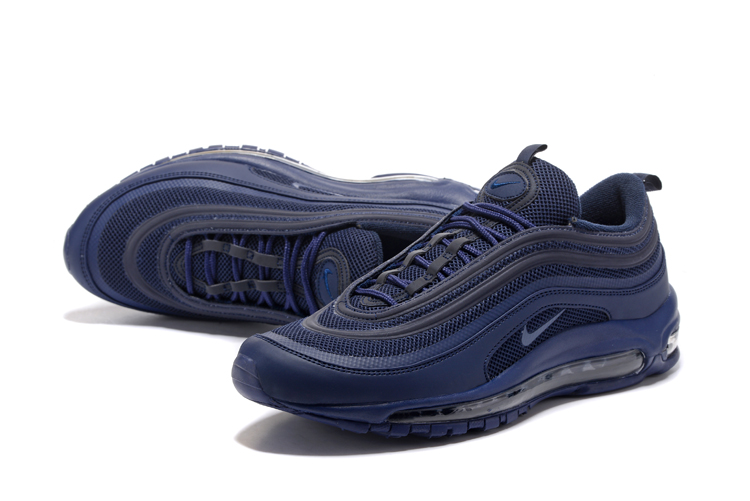 Men Nike Air Max 97 All Deep Blue Shoes