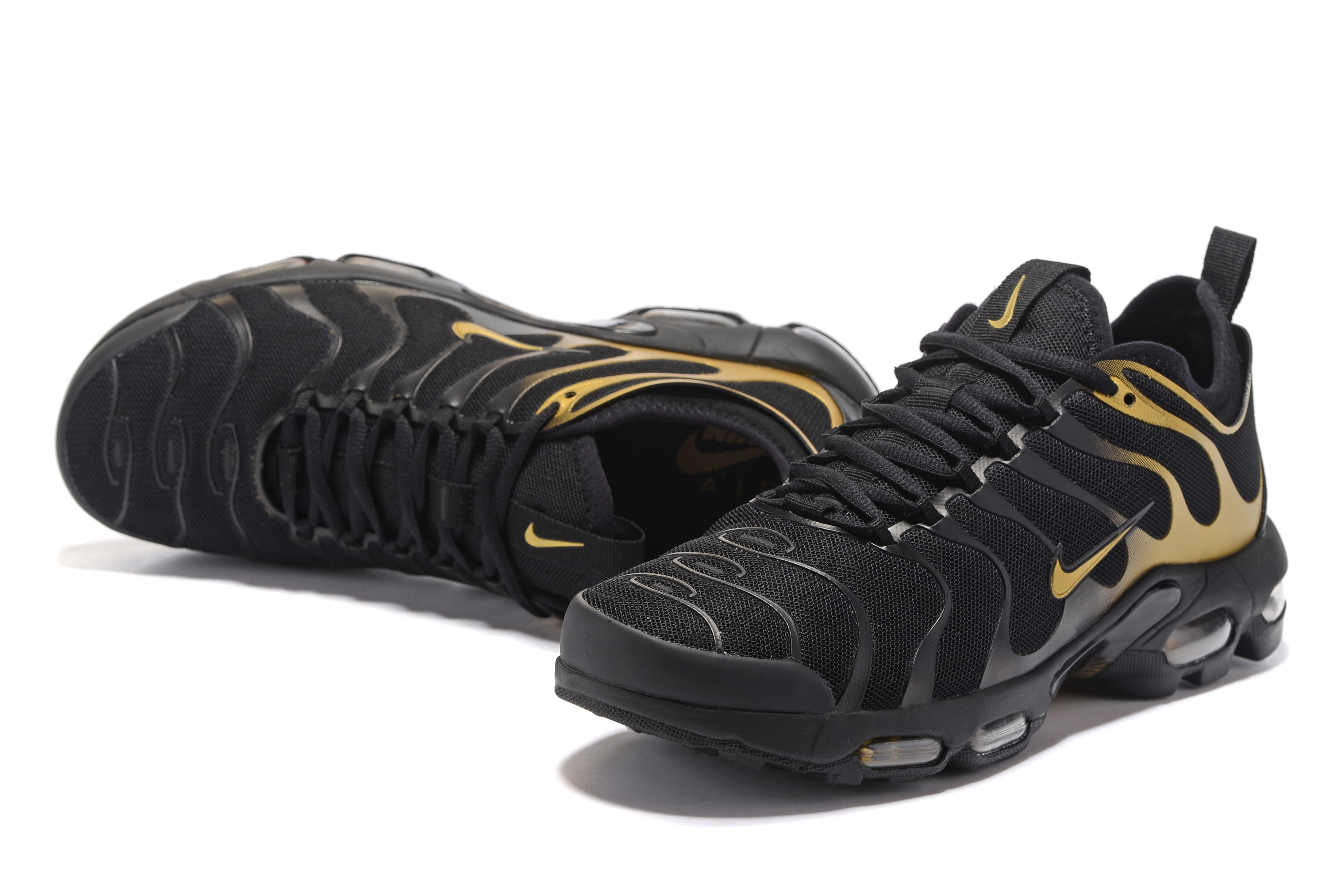 Men Nike Air Max Plus TN Black Gold