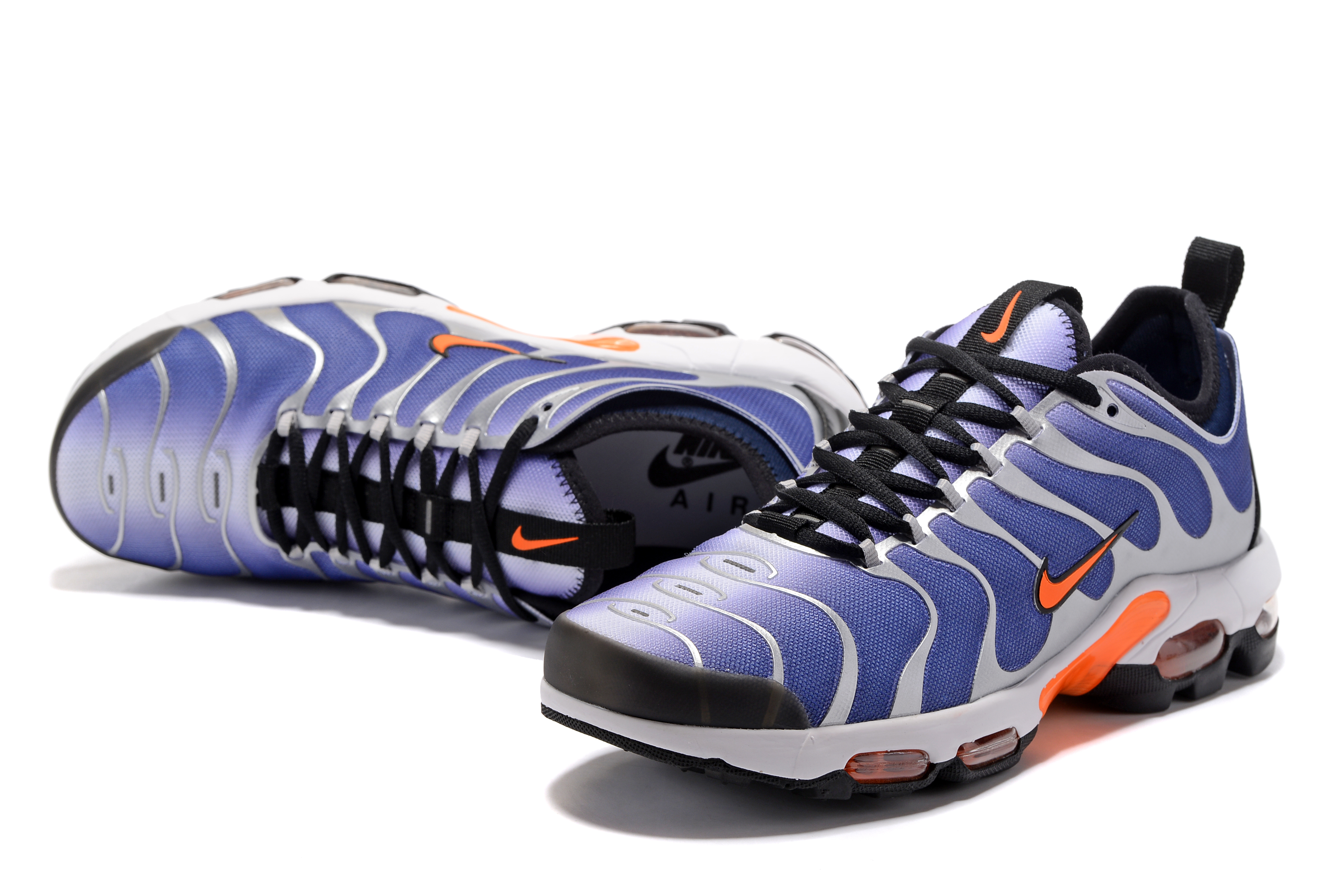 Men Nike Air Max Plus TN Blue White Orange Black