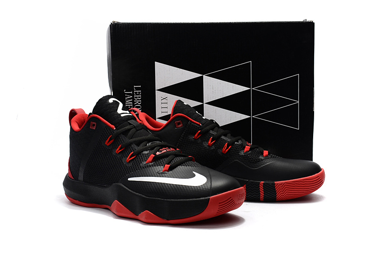 Men Nike Ambassador 9 Black Red Shoes