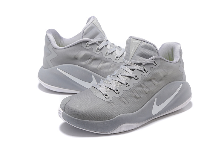 Men Nike Hyperdunk 2016 Low Wolf Grey Basketball Shoes