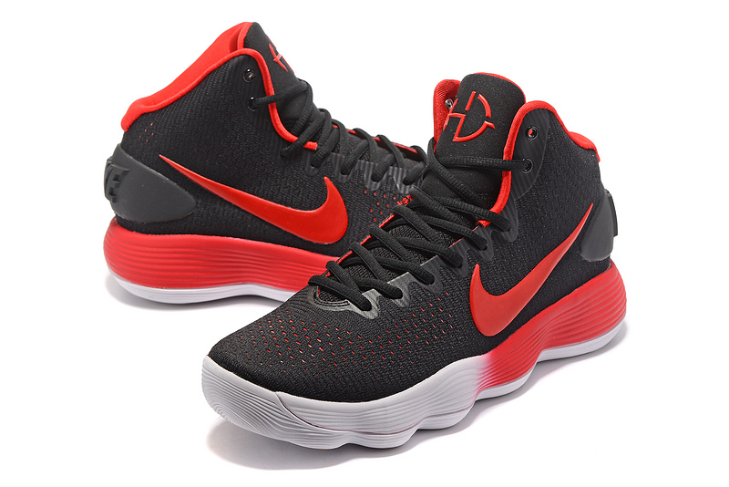 36c32093dd13 ... closeout men nike hyperdunk 2017 black red grey shoes 17d7a 23f8d