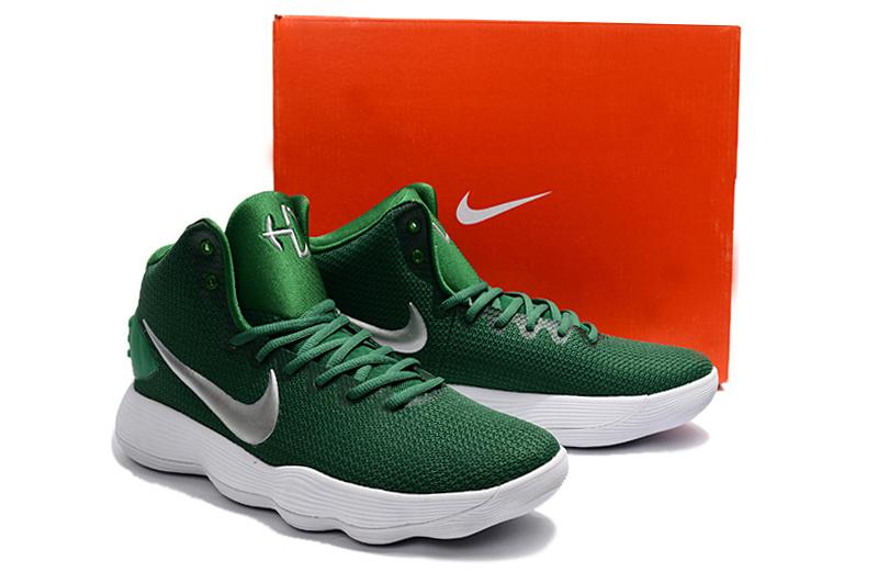 Men Nike Hyperdunk 2017 EP Green White Shoes