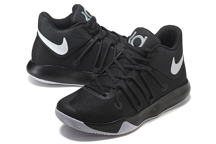 Men Nike KD Trey 6 Black White Shoes