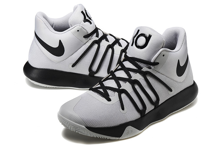 Men Nike KD Trey 6 Grey Black Shoes