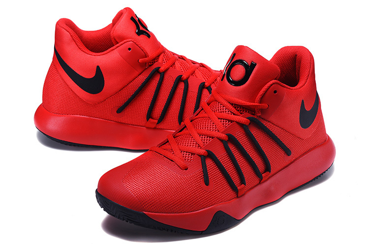 Men Nike KD Trey 6 Red Black Shoes