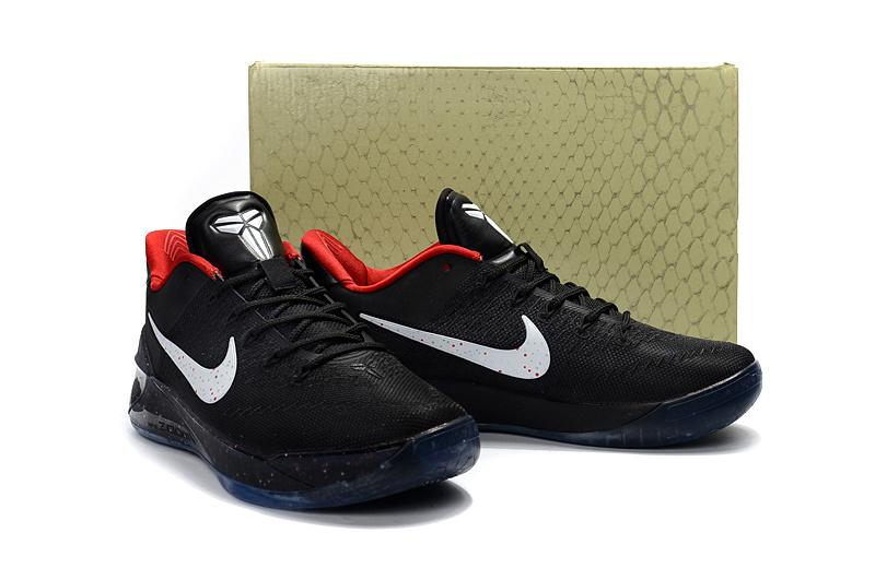 outlet store 66625 3c3fa ... store men nike kobe 12 derozen black white red shoes 32203 aa125