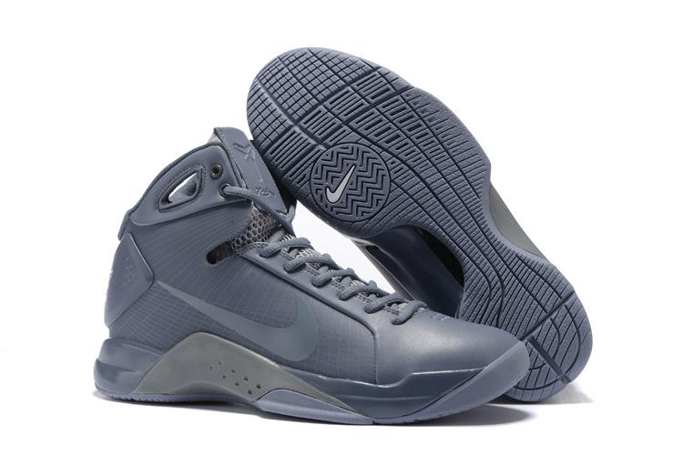 buy online 00226 7e296 Men Nike Kobe 4 All Grey Shoes