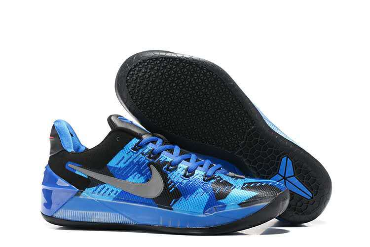 Men Nike Kobe Bryant A.D Blue Black Grey Shoes