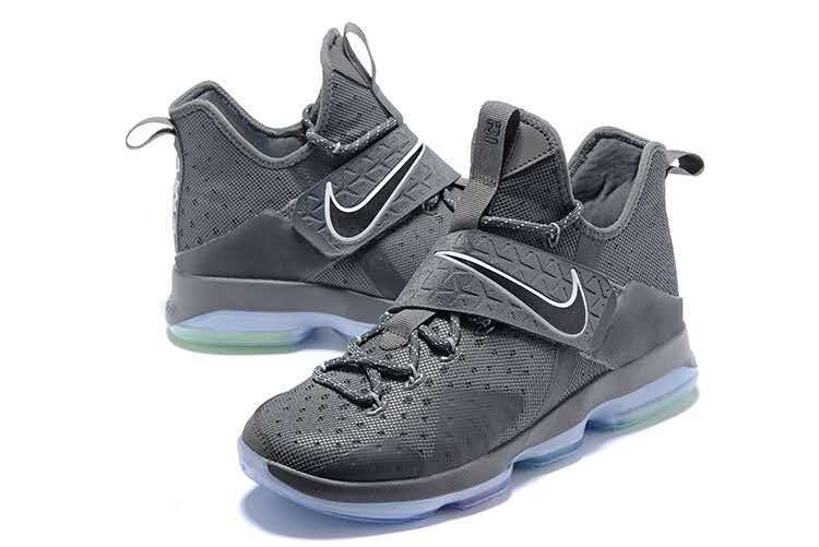 Men Nike Lebron 14 Grey Shoes