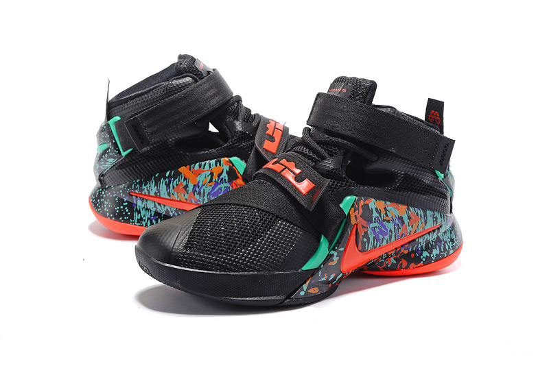 Men Nike Lebron James Soldier 9 All Star Shoes