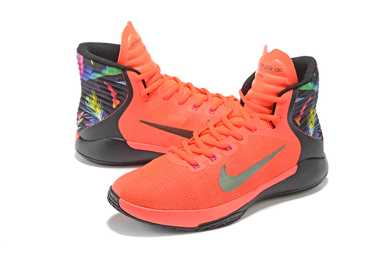 Men Nike Prime Hype DF 2016 Red Black Colorful Shoes