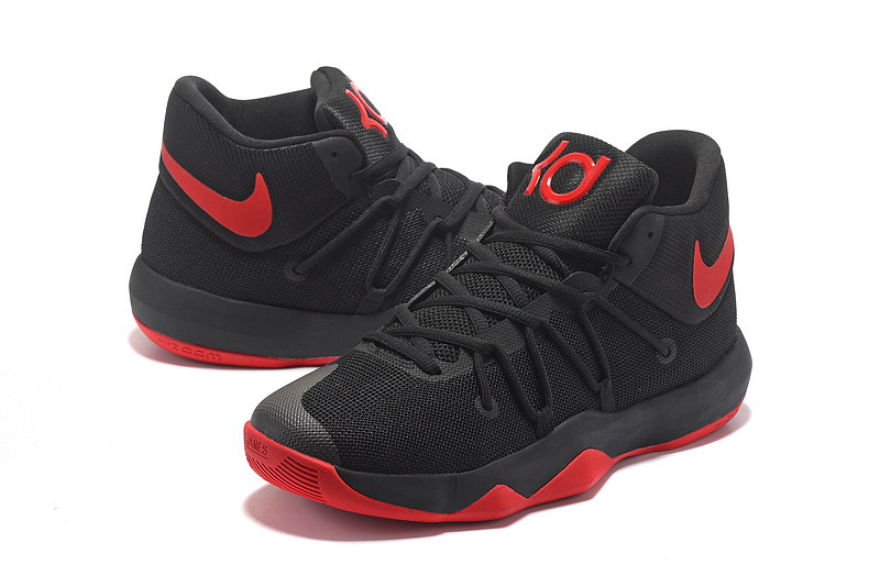 Men Nike Trey 6 Black Red Basketball Shoes