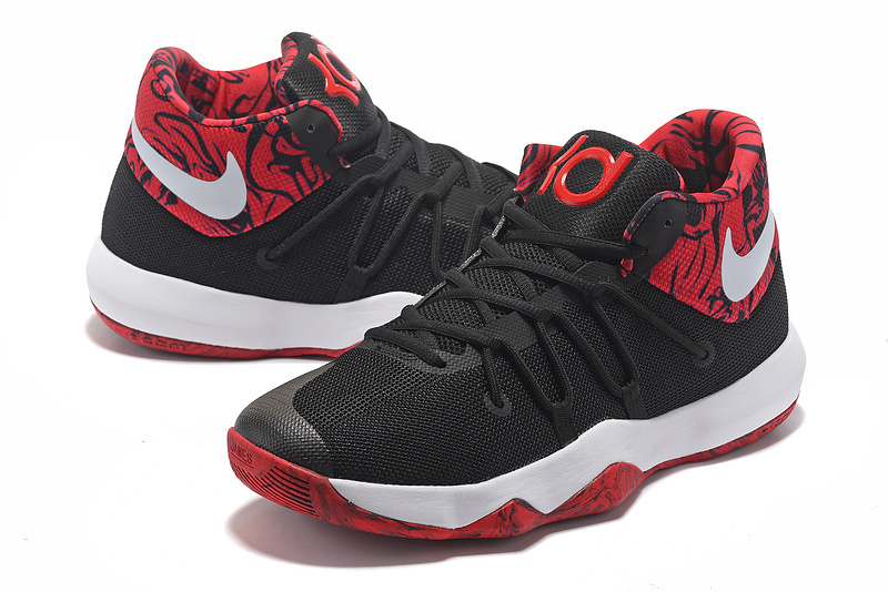 Men Nike Trey 6 Black Red White Basketball Shoes