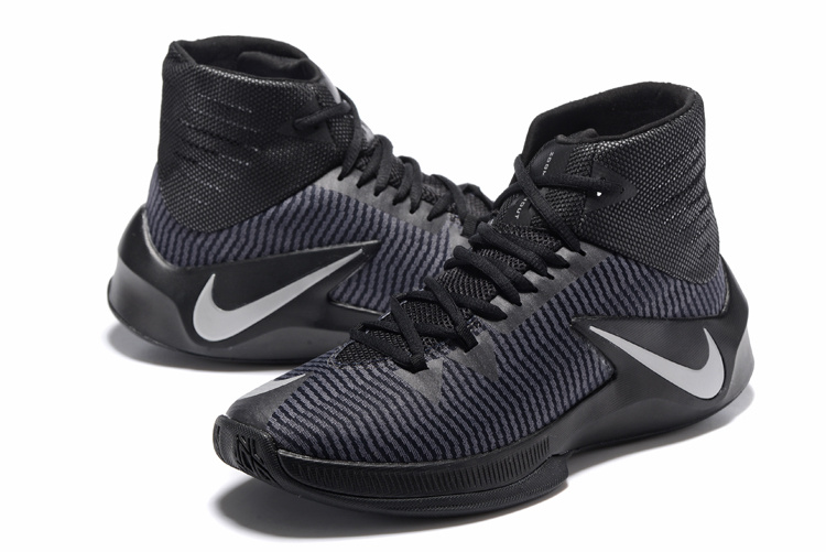 Men Nike Zoom Clear Out All Black White