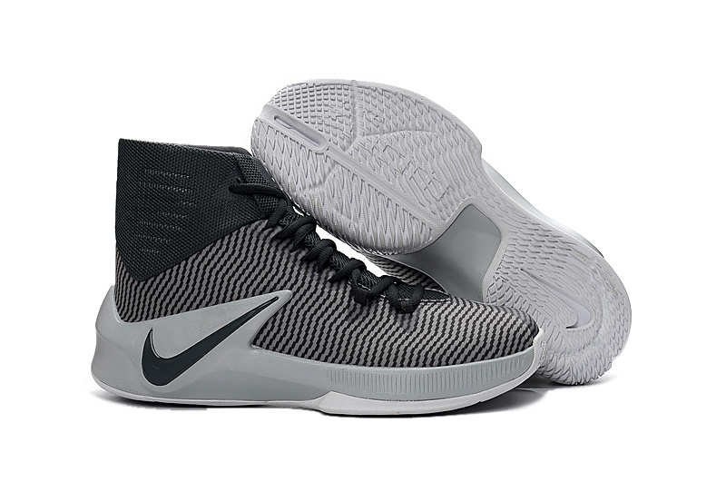 Men Nike Zoom Clear Out Black Grey Shoes