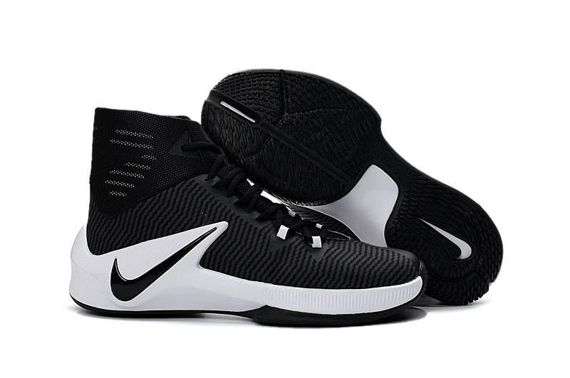 Men Nike Zoom Clear Out Black White Shoes