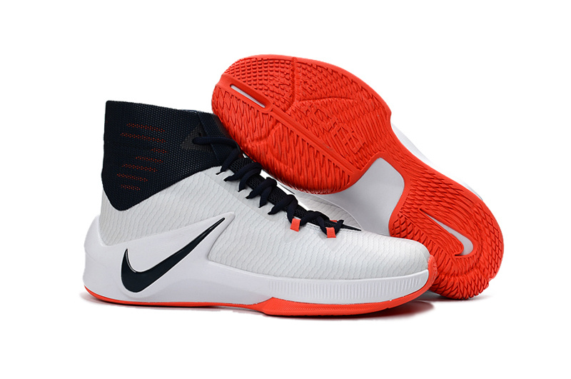 Men Nike Zoom Clear Out White Black Red Shoes