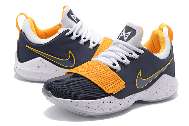 new product 1bdd8 0a8c3 ... canada men nike zoom pg 1 deep blue yellow white shoes 07219 5990f