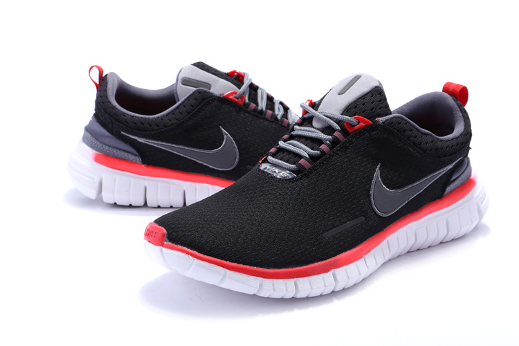 Nike Free OG 2014 Running Shoes Black Red White