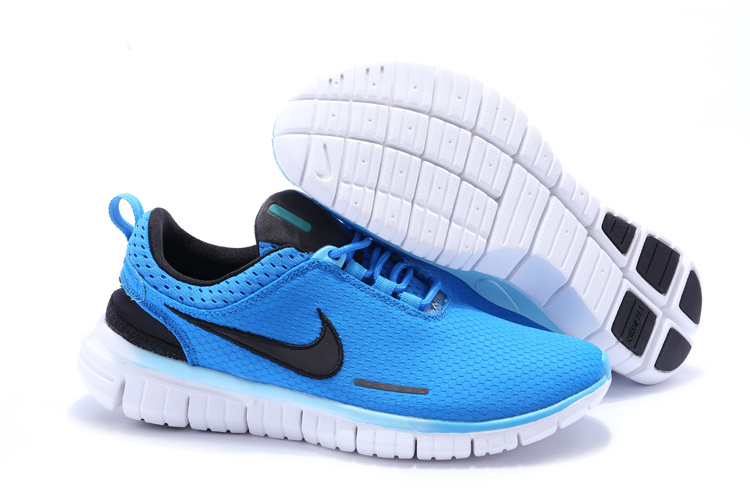 Nike Free OG 2014 Running Shoes Blue Black White