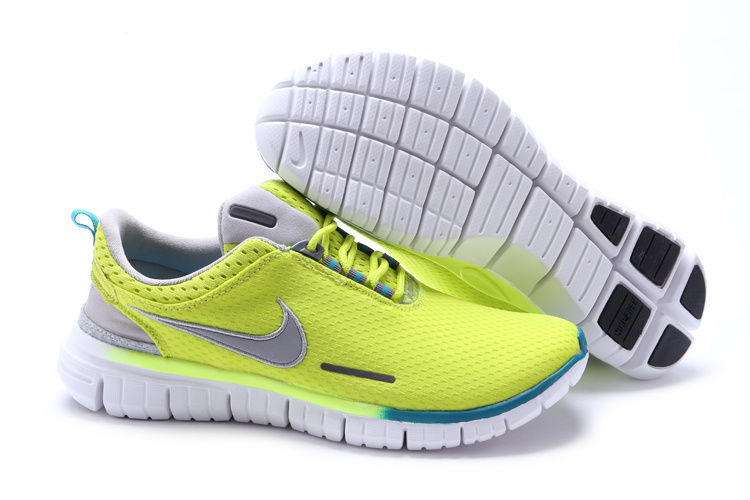 Nike Free OG 2014 Running Shoes Fluorscent Green